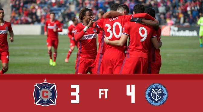 Chicago Fire Drops Opening Day Match To NYC FC