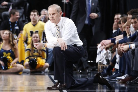 John Beilein and Michigan still have a chance to make some noise this season starting with First Four. They play Tulsa on Wednesday, March 16. (Joe Robbins/Getty Images North America)