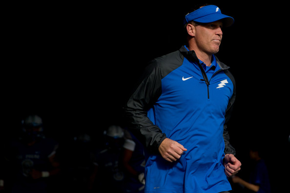 Air Force reached the Mountain West title game in 2015. What will 2016 bring for Troy Calhoun and the Falcons? (Justin Edmonds/Getty Images North America)