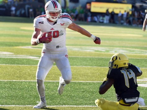 Cooper Kupp's health will be the focus coming into and during the game against Richmond. He is a top receiver in the FCS and a crucial part of the Eastern Washington pass offense. (Steve Dykes/Getty Images North America)