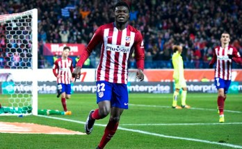 Thomas Partey on target for Athletico Madrid as they demolish Real Betis