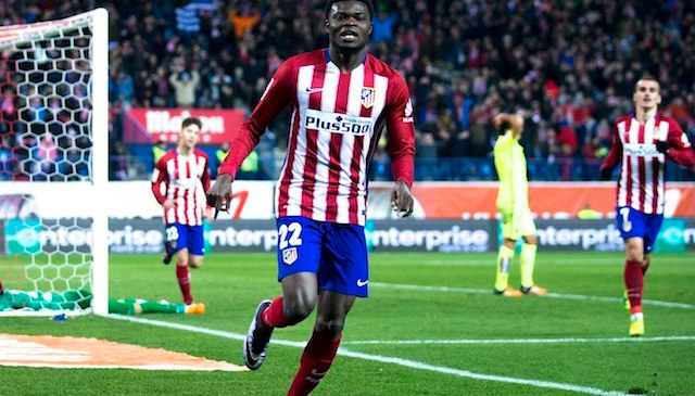 Thomas Partey scores first season goal for Athletico