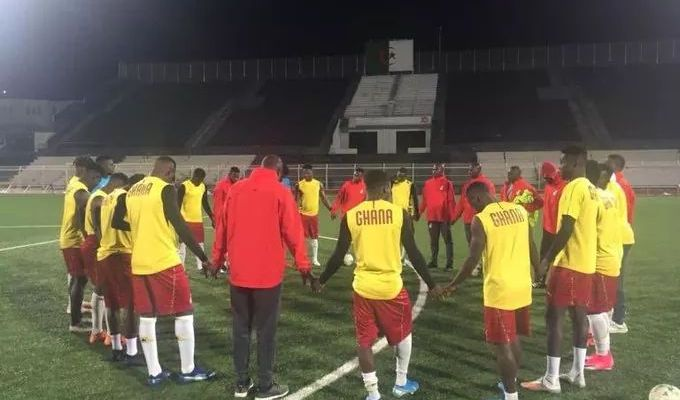"Ghana's Black Meteors will have all to play for today when they take on the Fennec Foxes of Algeria in the second leg final qualifier for the CAF U-23 AFCON tournament in Setif, Algeria. The Algerians will go into the game chest-high having fought to a 1-1 stalemate at the Accra Sports Stadium on Friday after a Zorgane Adem first-half strike was cancelled in the second half by Dauda Mohammed from the spot. Coach Ibrahim Tanko's side needs a win or at least a score draw of more than two goals if the dream of scaling the Algerian hurdle into the tournament for the Olympic Games was to become a reality. Assistant Coach Michael Osei believes all is not lost for his side as they also have what it takes to break the Algerians at home. In a post-match briefing, he agreed his side had a difficult game and did not play well in the first half of Friday's game and would need to be focused if they are to qualify. The skipper of the Black Meteors, Yaw Yeboah, also believes the tie is far from over as against what many Ghanaian soccer fans believe. According to him, the Black Meteors has what it takes to beat the Algerians, even on their soil, and that is the mindset with which they will be approaching the game today. ""All is not over yet, at this moment, we need the full support of Ghanaians through prayers to help us get a win in Algeria."" The game at the Stade Setif Astroturf will have Moroccan referee Jalal Jayed taking charge of the game with Hicham Ait Abbou and Yahya Nouali assisting him. Winner of the tie will qualify to November's tournament scheduled for Egypt 8-22, with the top three countries qualifying for the 2020 Olympic Games in Tokyo, Japan. Meanwhile, members of the Black Meteors are reported to have vented their frustrations over what they believe is ill-treatment being meted out to them by the Ministry of Youth and Sports and the Normalisation Committee in the build up to and during their AFCON U-23 last round qualifying match against Algeria, according to a report in citisports.com. According to the report, apart from being asked to buy their own air tickets to come and honour the game, the team also had to ration a rickety Coaster bus with the women's national team, the Black Queens, and often needed to wait for close to an hour after training for the bus to drop off the Queens first before coming back for them. In contrast, their counterparts, the Algerians, were bused around in a comfortable VIP bus upon their arrival in Ghana. ""They're treating the Algerians better than us, as if when we go there these guys will treat us any better,"" one player told Citi Sports. ""This is disgraceful, it's like they don't care about this game. The pitch wasn't even watered. Just putting water on the pitch too, they didn't do it,"" another cried out."