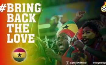GFA to launch #Bringbackthelove campaign ahead of Black Stars games