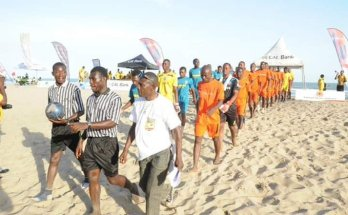 Copalagos2019: Ghana beach soccer champions Keta Sunset defeat tournament favorite