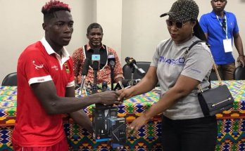 Justice Blay voted Best Player in Hearts, Kotoko game