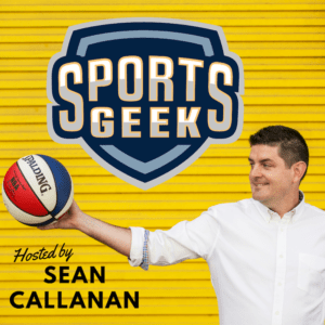 Sports Geek podcast available on all podcast platforms