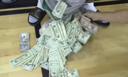 Gilbert Arenas Showed Up with $100k in Cash after Swaggy P Challenged Him