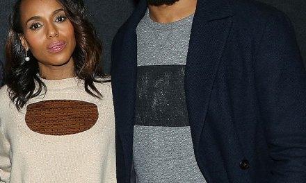 Kerry Washington Makes Rare Public Appearance with Former NFL Player Husband Nnamdi Asomugha