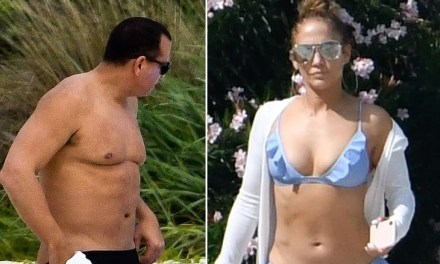 A-Rod and J-Lo Enjoy Their Bahamas Vacation In Spite of Jose Canseco's Cheating Claims