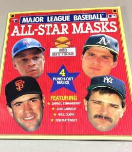Baseball Mask Book