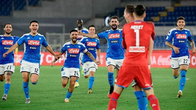 Napoli beats Juventus on penalties to win Coppa Italia final ...