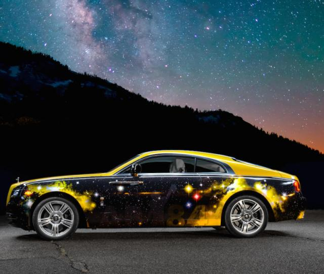 Look Antonio Brown Unveils Star Studded Custom Rolls Royce