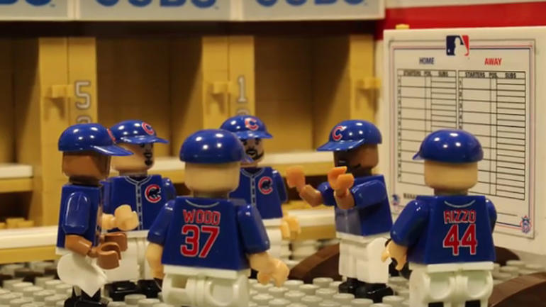 WATCH  Cubs Game 7 World Series win receives the LEGO treatment     WATCH  Cubs Game 7 World Series win receives the LEGO treatment    CBSSports com