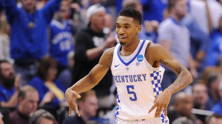 Kentuckys Malik Monk Joins DeAaron Fox In Declaring For
