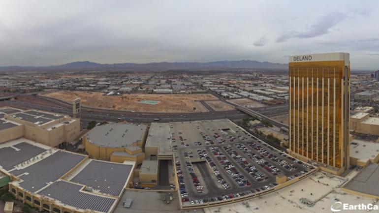 Raiders put camera on Las Vegas casino to monitor stadium build - CBSSports.com