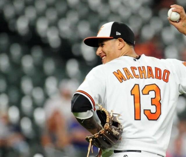 Mlb Hot Stove Rumors Orioles Reportedly Listening To Manny Machado Trade Calls Cbssports Com