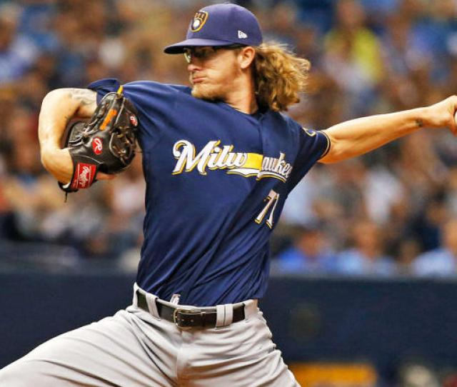 Josh Hader Wont Face Suspension From Mlb Or Brewers For Inflammatory Tweets Surfaced During All Star Game Cbssports Com