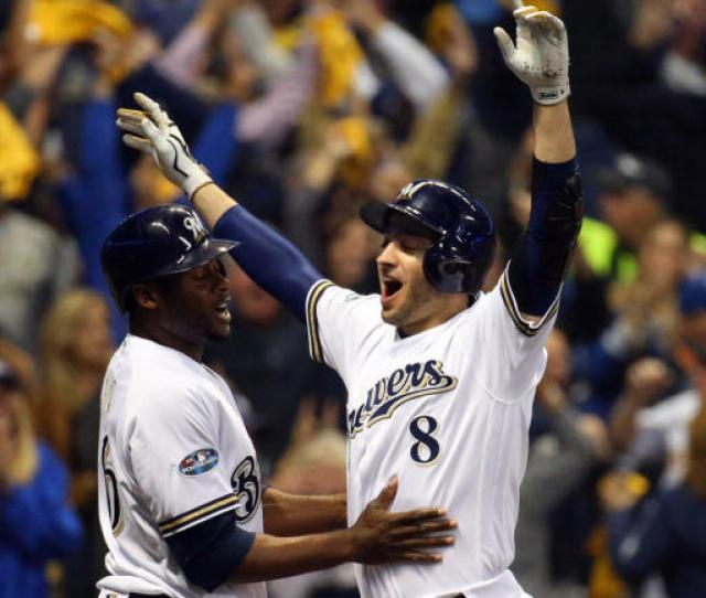 Dodgers Vs Brewers Score Milwaukee Forces Game  After Early Offensive Explosion In Nlcs Game  Cbssports Com