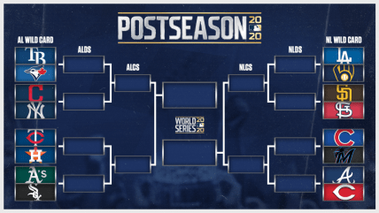 MLB playoff picture, postseason bracket: Wild Card matchups set; Yankees-Cleveland, Dodgers-Brewers, more - CBSSports.com
