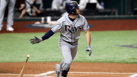 World Series: Rays' Brandon Lowe breaks out of slump with two Game 2 home  runs - CBSSports.com