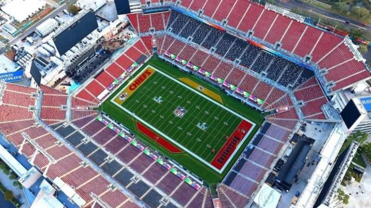 Raymond James Stadium Super Bowl LV 55 Chiefs Buccaneers