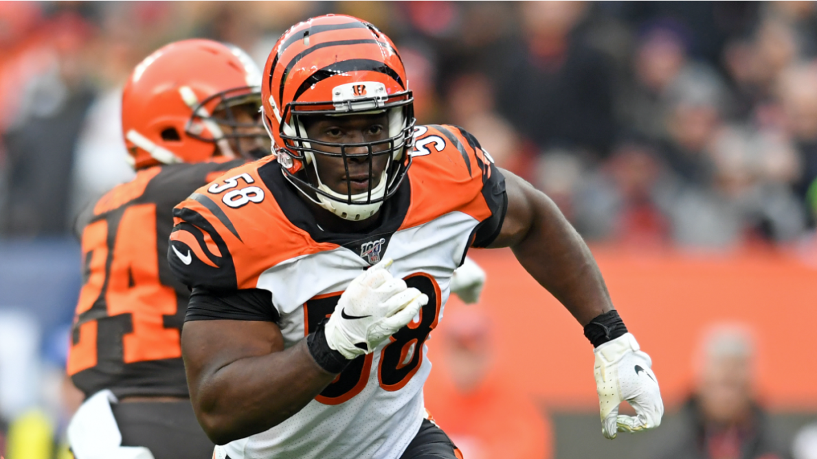 Bengals passed on franchise tagging Carl Lawson, pass-rusher looks to free  agency - CBSSports.com