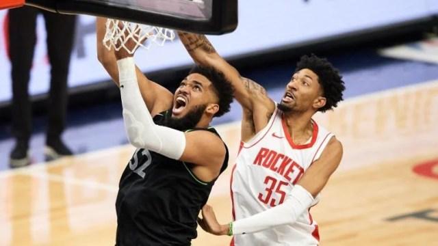Karl-Anthony Towns Minnesota Timberwolves Christian Wood Houston Rockets