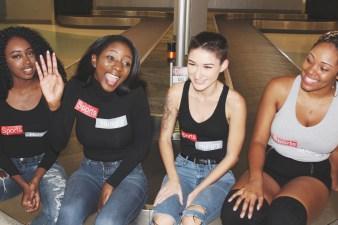 Jasmine, Demetria, Kay, Kyla