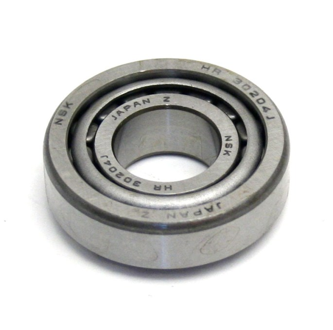 Front Wheel Outer Bearing Image