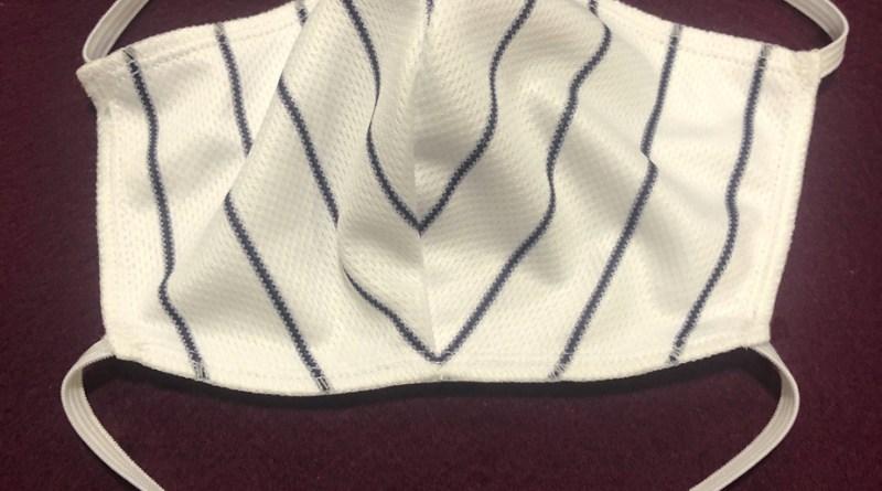 Baseball : Des maillots convertis en masques pour aider les hôpitaux a vaincre le Coronavirus