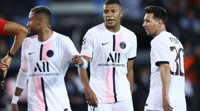 Ligue des champions : le PSG rate son entrée malgré la présence de son trio magique