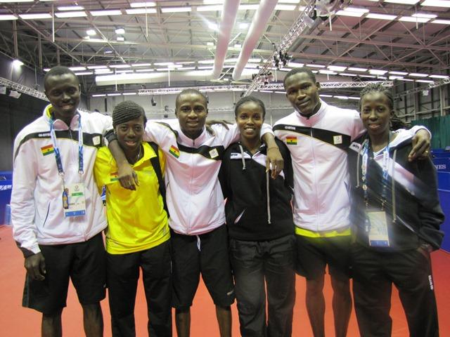 Team Ghana Table Tennis
