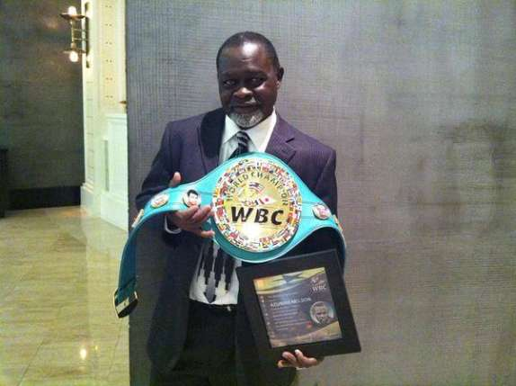 Azumah greatest WBC Super Featherweight