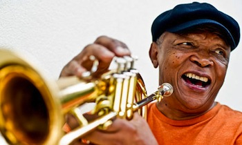 South Africa's celebrated  Hugh Masekela will also perform