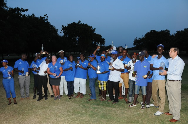 Tigo Tema Open group photo