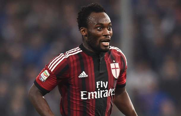 Essien at Milan