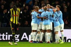 EPL / defending champion Manchester City defeated Watford News