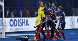 France, in the next round, defeating the Hockey World Cup / Argentina