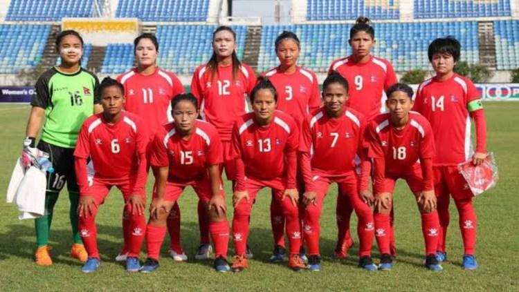 Nepal National Women's Football Team , Image Courtesy ANFA