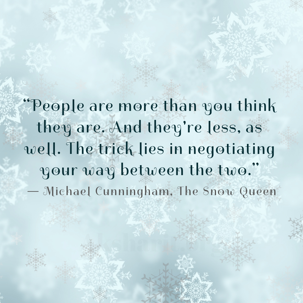 8 Michael Cunningham The Snow Queen