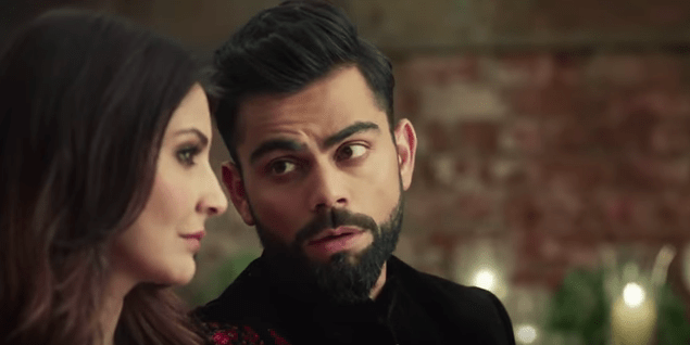 Virat Anushka Manyavar clothing wedding ad mohey 3