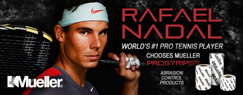 Mueller Sports Medicine Rafael Nadal Brand Endoresements sponsorship