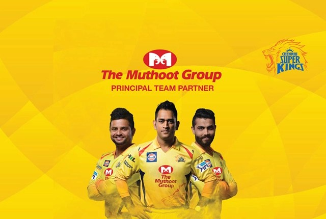 Chennai Super Kings Partners Sponsors Brands Companys Logos Jersey TVc Advert The Muthoot Group