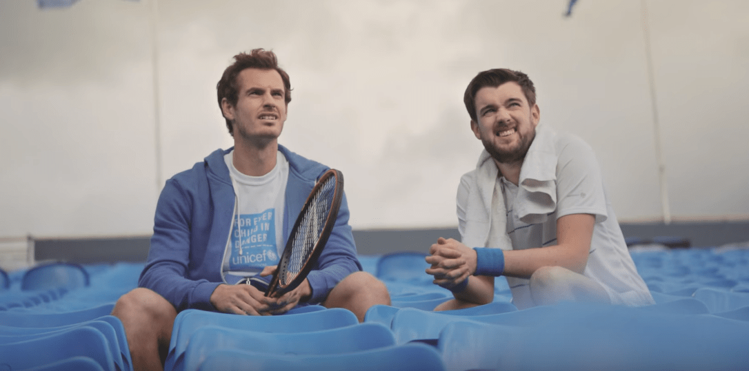 Andy Murray Brand Endorsements Sponsors Partners Ambassador Unicef