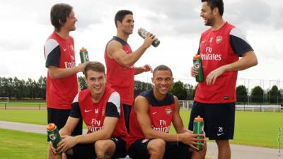 Arsenal FC Football Club Sponsors Partners Sponsorships Partnerships Brand Endorsements gatorade