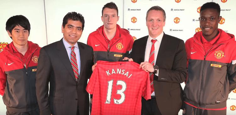 Manchester United Man Utd Red Devils Sponsorships Partnerships Brands Kansai