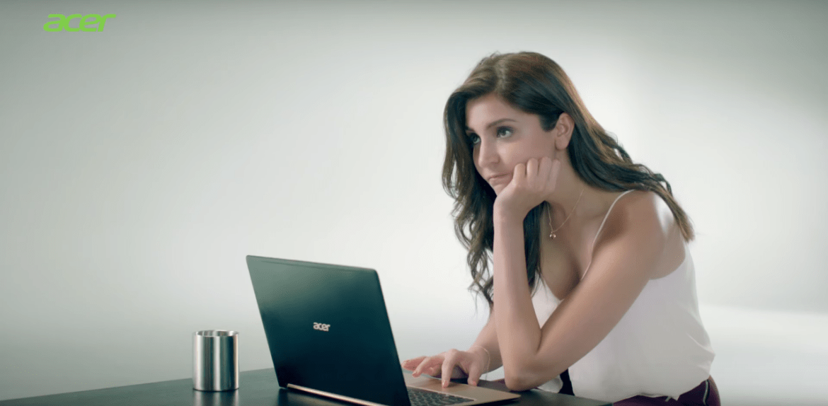 Anushka Sharma Brand Endorsements Brand Ambassador Promotions TVC Advertisements List Acer India