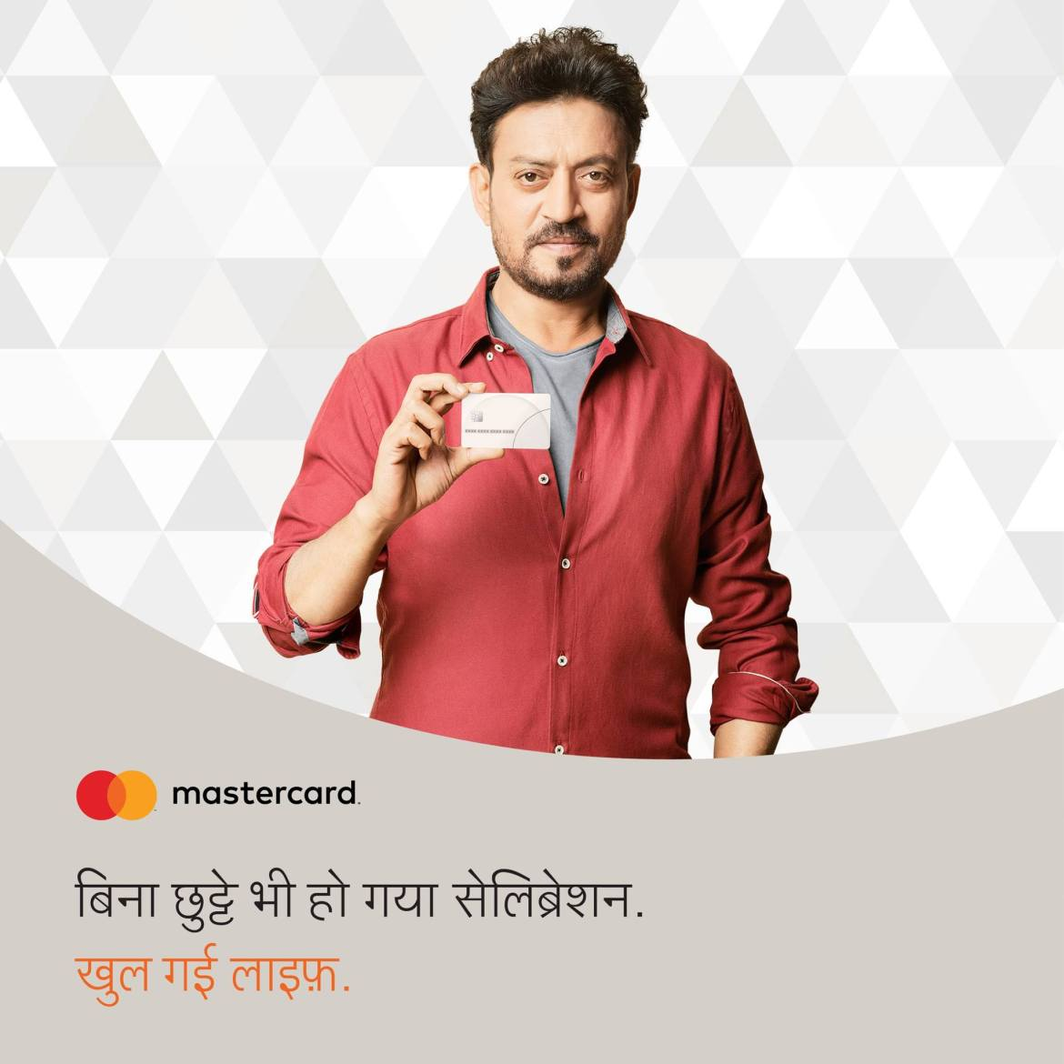 Irrfan Khan Brand Endorsements Brand Ambassadors TVCs advertisements promotion MasterCard