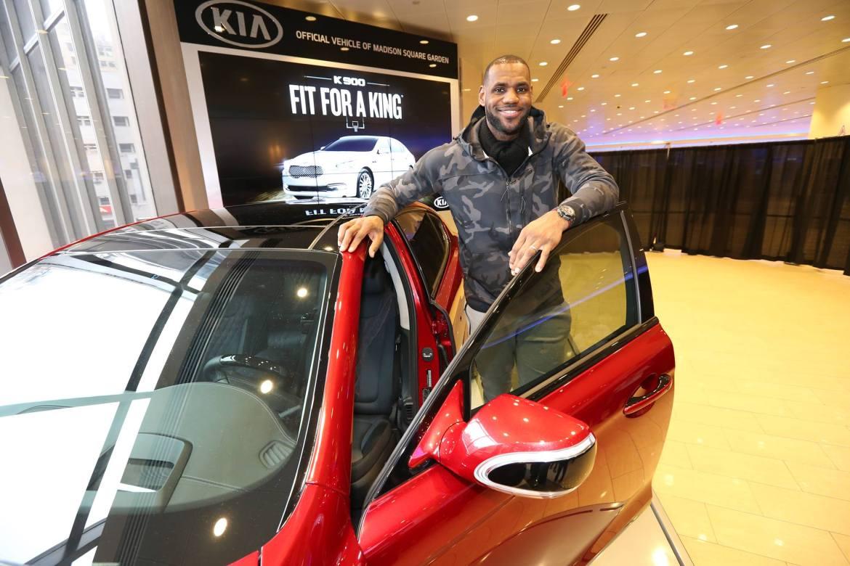 LeBron James Brand Endorsements Ambassador Advertisements Commercials TVC Promotions Associations Sponsors Partners Kia Motors